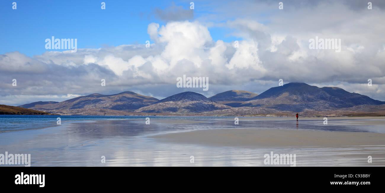 Luskentyre Isle of Harris, Outer Hebrides, Scotland - Stock Image