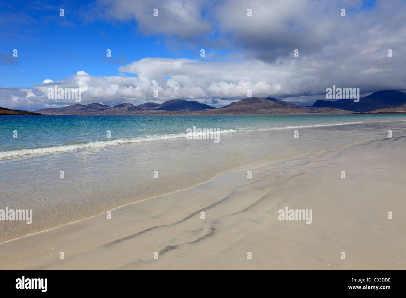 Luskentyre Isle of Harris, Outer Hebrides, Scotland - Stock Image