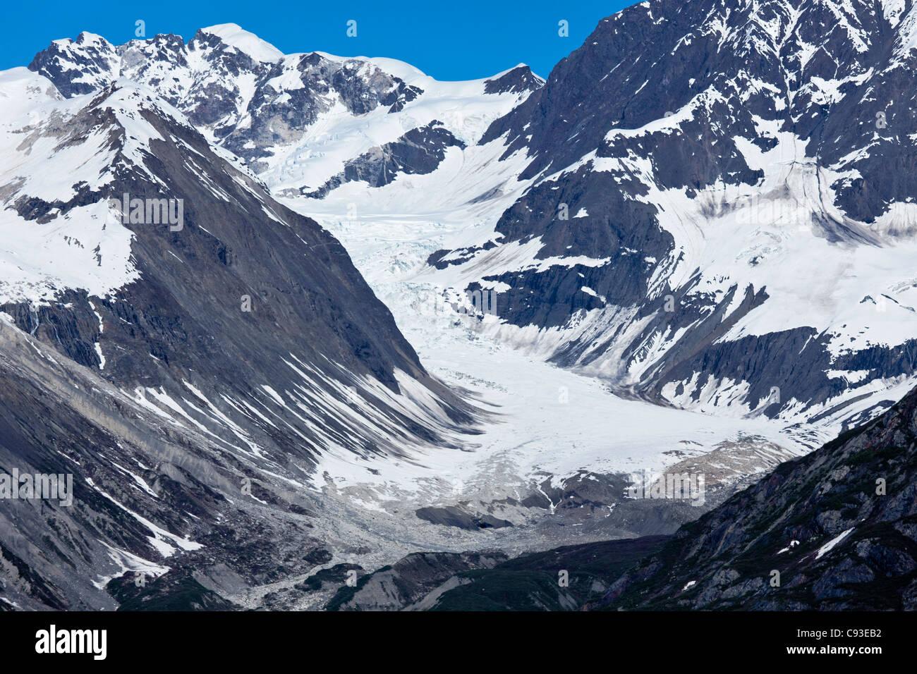 Tokeka Glacier in Glacier Bay,Alaska - Stock Image