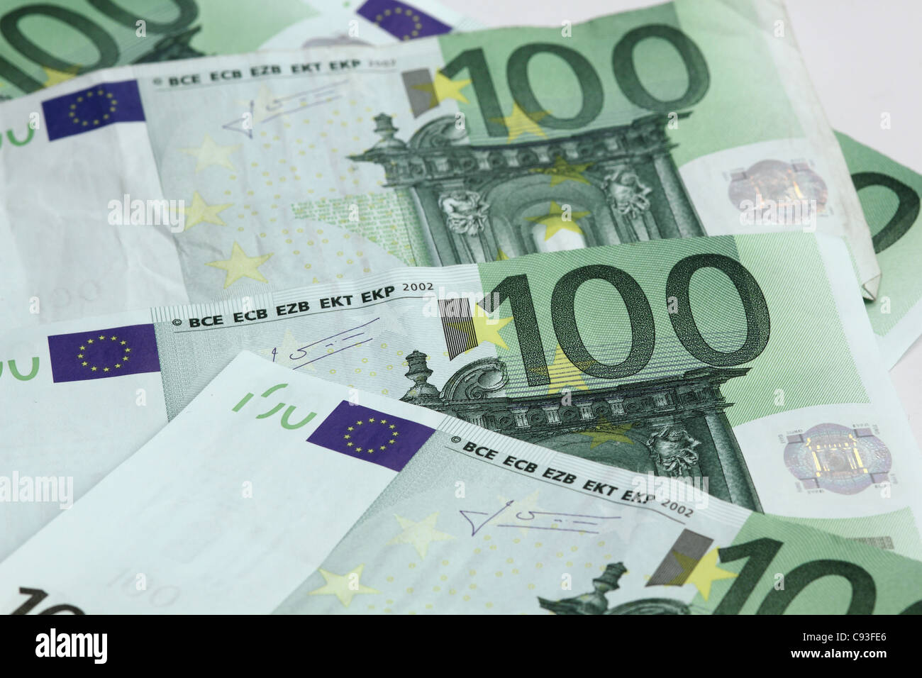 money euro Stock Photo