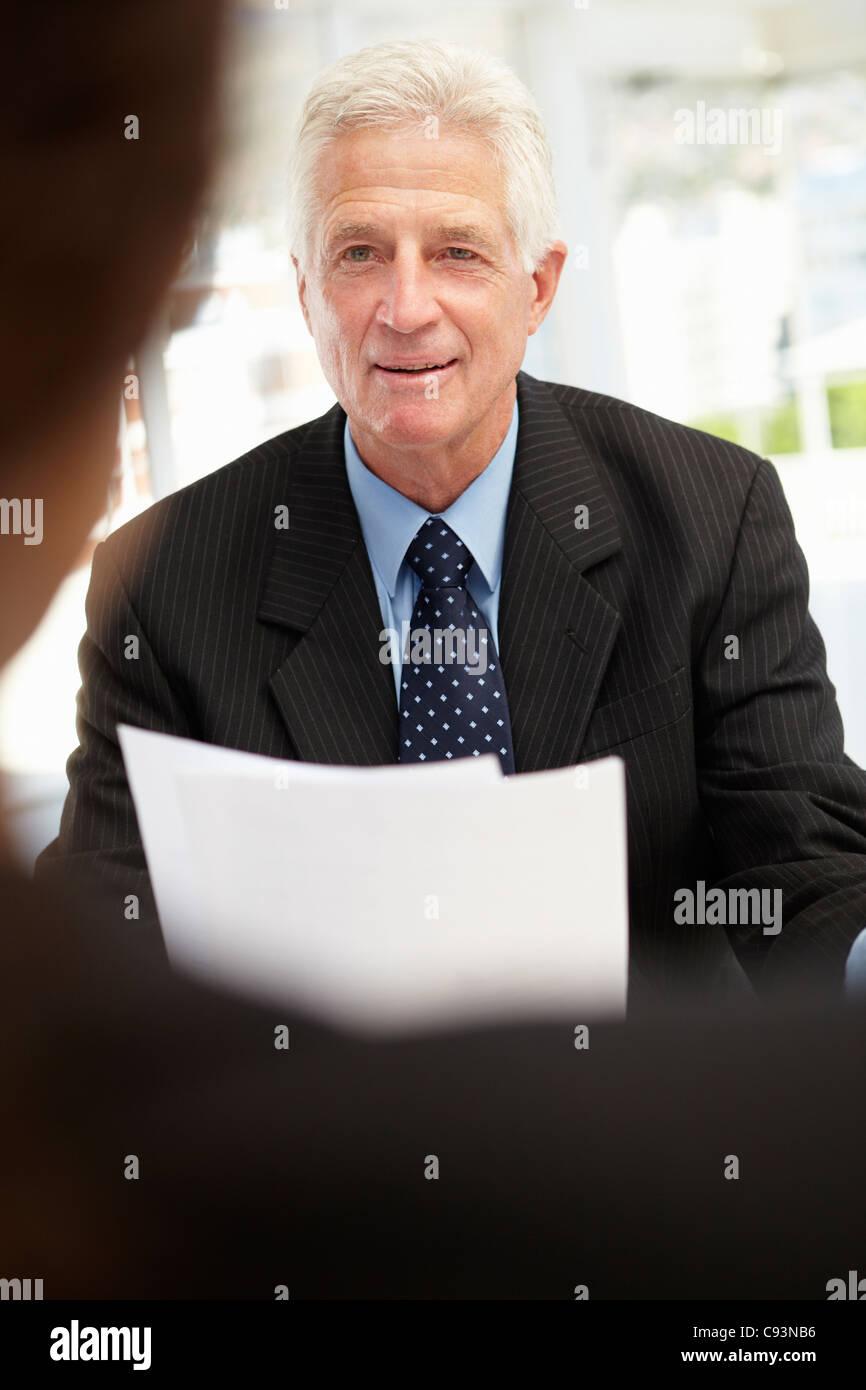 Job interview - Stock Image