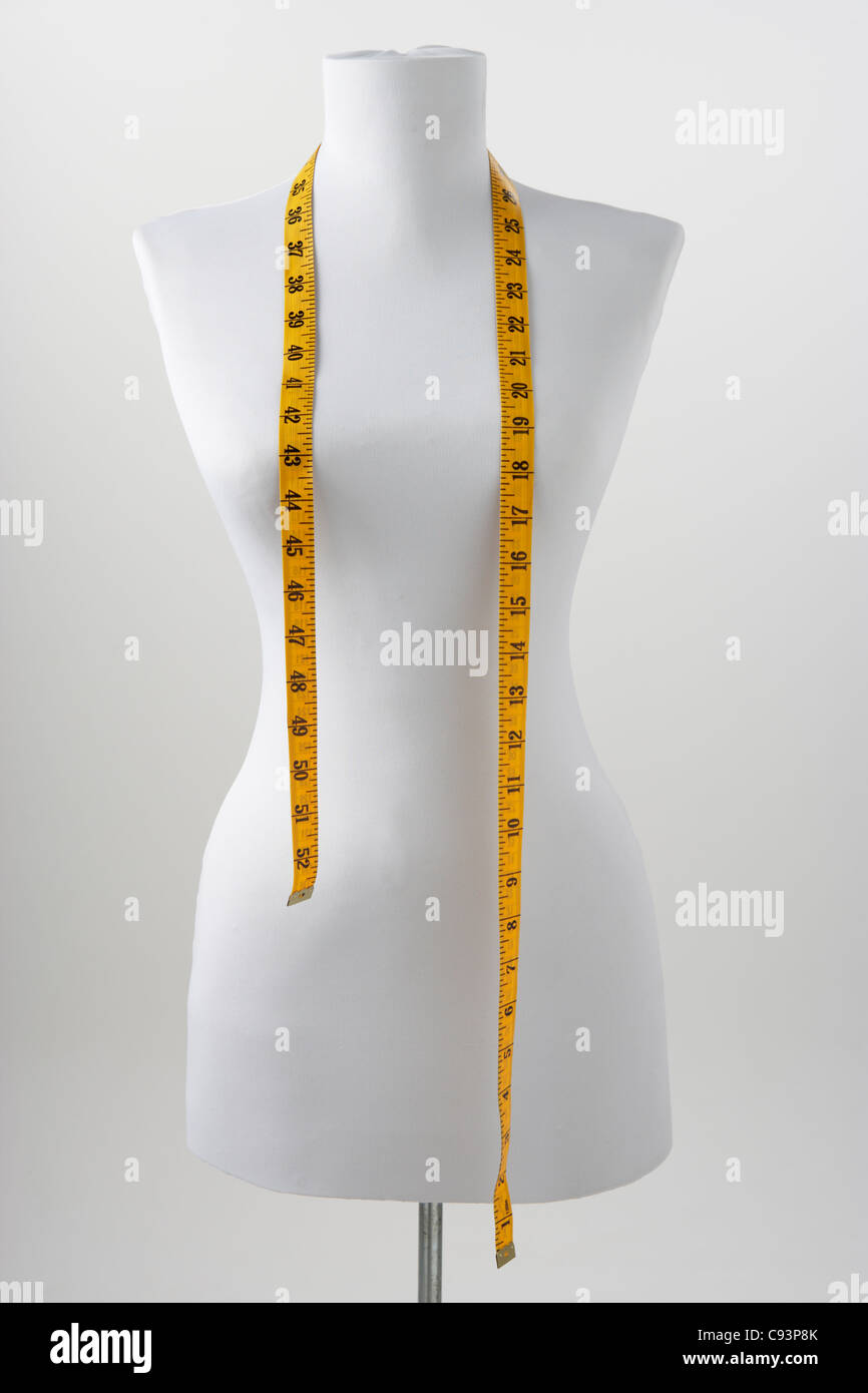 Dressmaker's mannequin - Stock Image