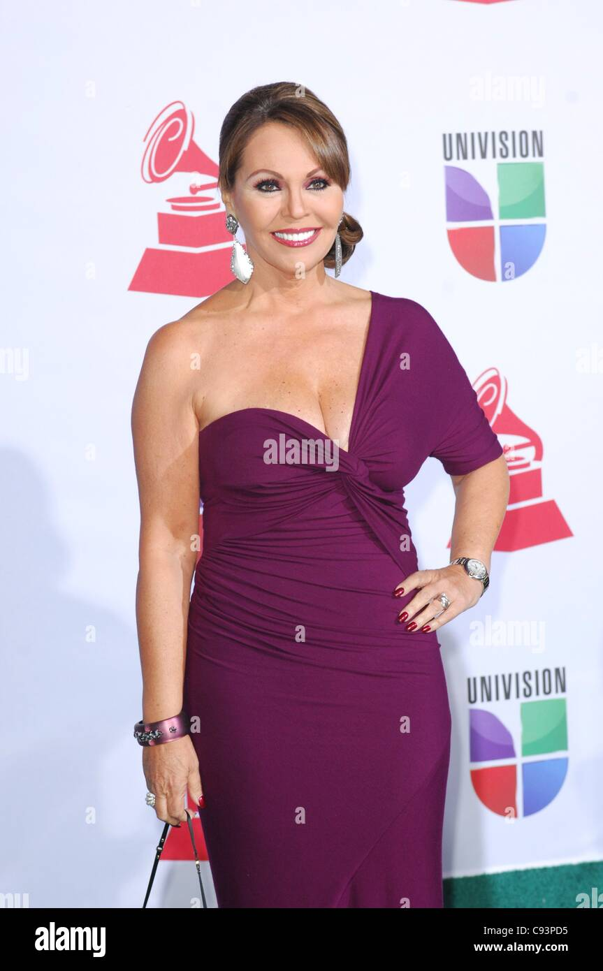 Maria Teresa Salinas at arrivals for 12th Annual Latin GRAMMY Awards ...