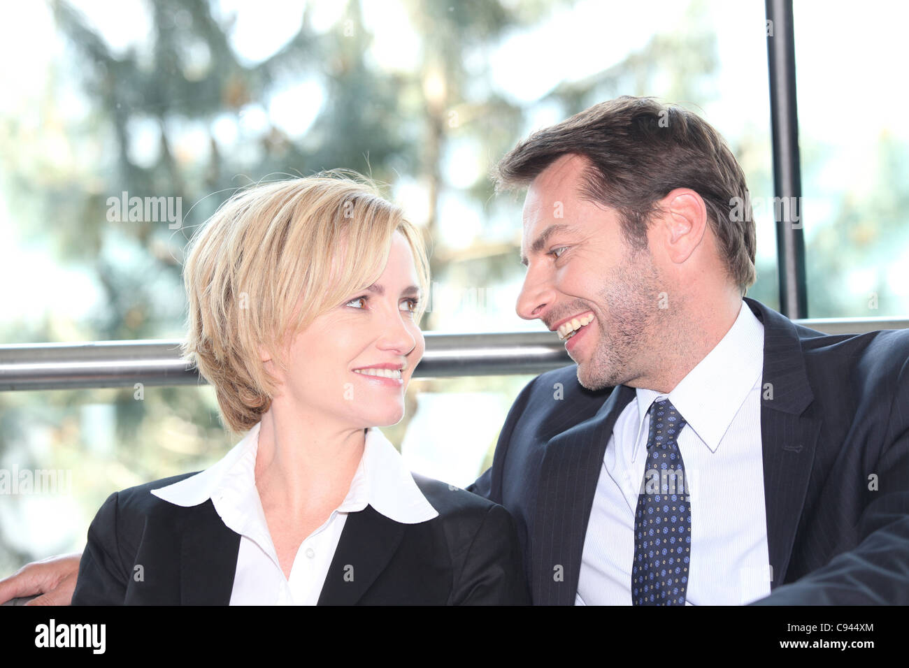 Accomplice couple - Stock Image
