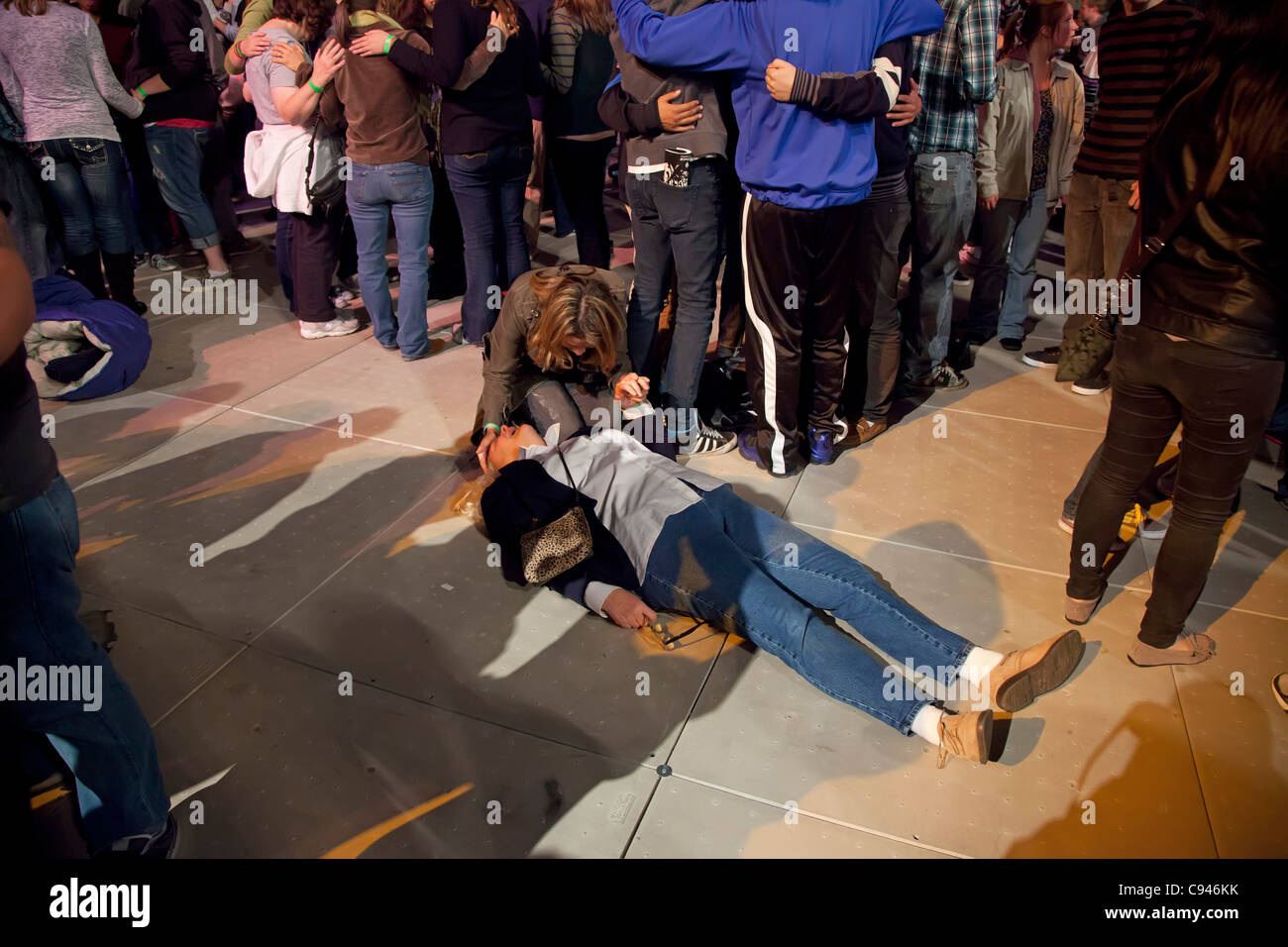 Detroit, Michigan - Thousands attended a 24-hour prayer and