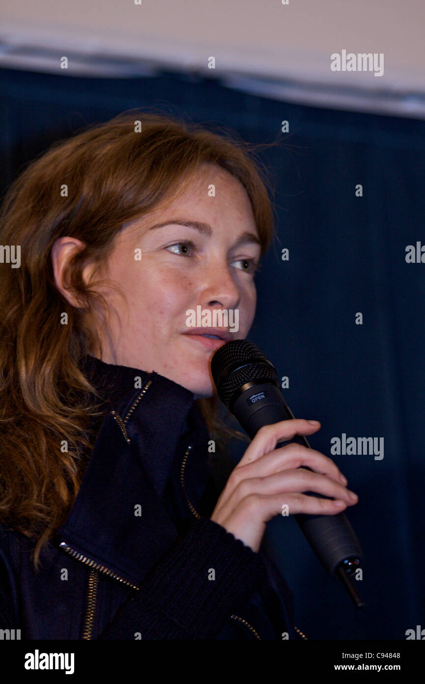 BOLOGNA, (IT) 11/Nov/2011: 'The Kryptonite inside the bag' Moview preview with Cristiana Capotondi (actresses) - Stock Image