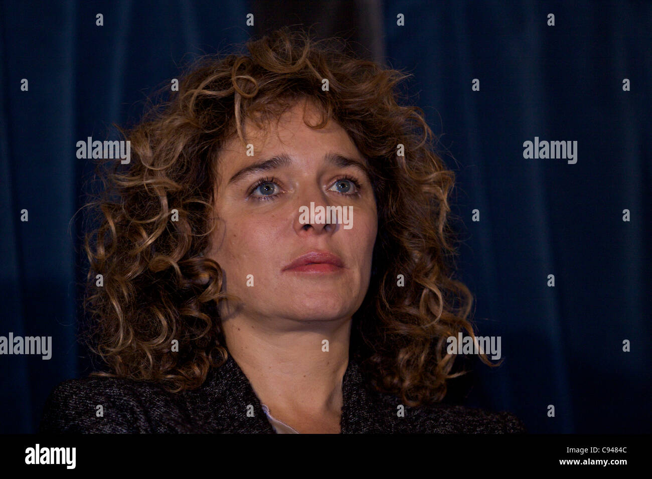 BOLOGNA, (IT) 11/Nov/2011: 'The Kryptonite inside the bag' Moview preview with Valeria Golino @ Cassero. - Stock Image