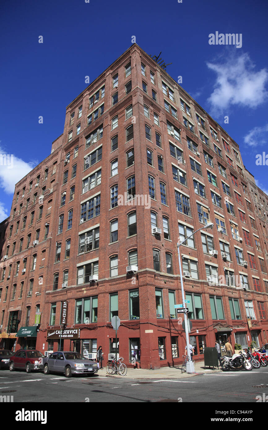 Former industrial building converted into condominium apartment