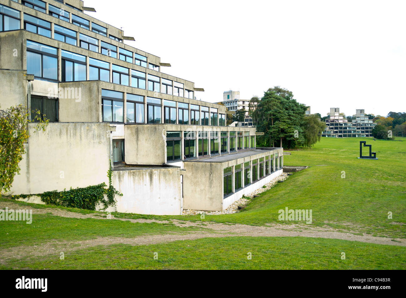 University of East Anglia student residences - Stock Image