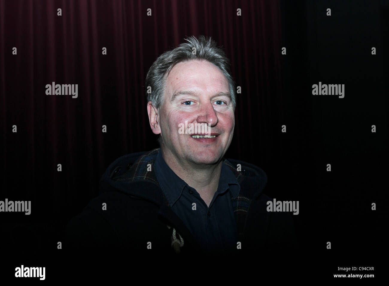 British film director Brian Hill after the world premier of his film 'Undercover Cop' in International documentary - Stock Image
