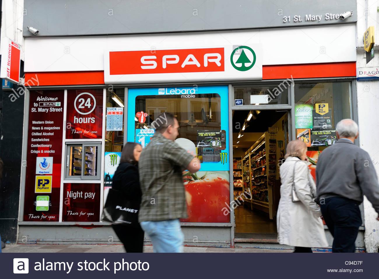 b19051872d Spar Store Uk Stock Photos   Spar Store Uk Stock Images - Alamy