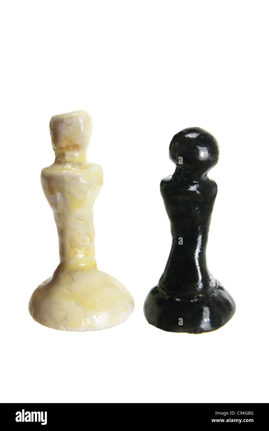 Pawn Chess Pieces - Stock Image