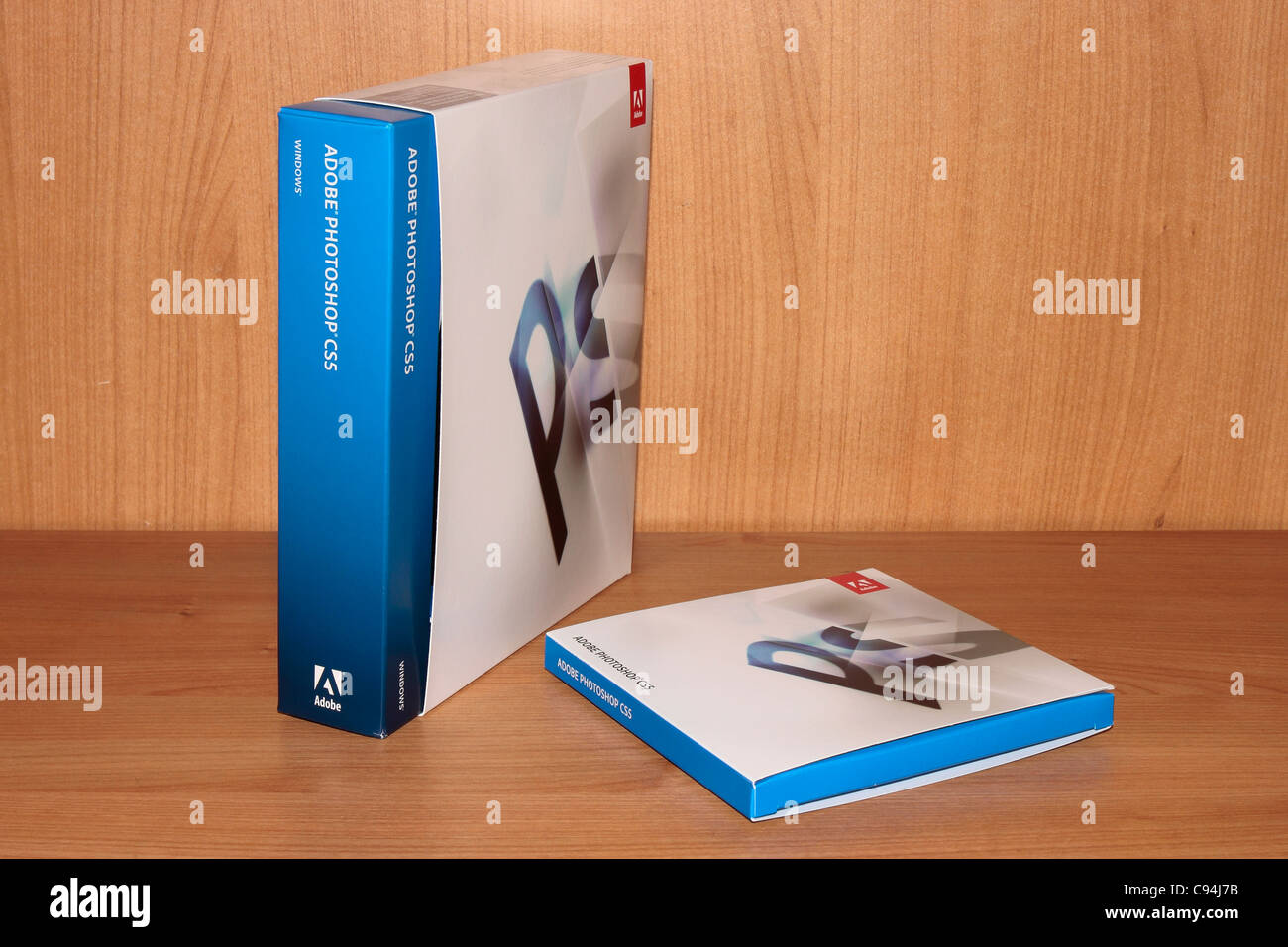 Adobe Photoshop CS5 Box - Stock Image