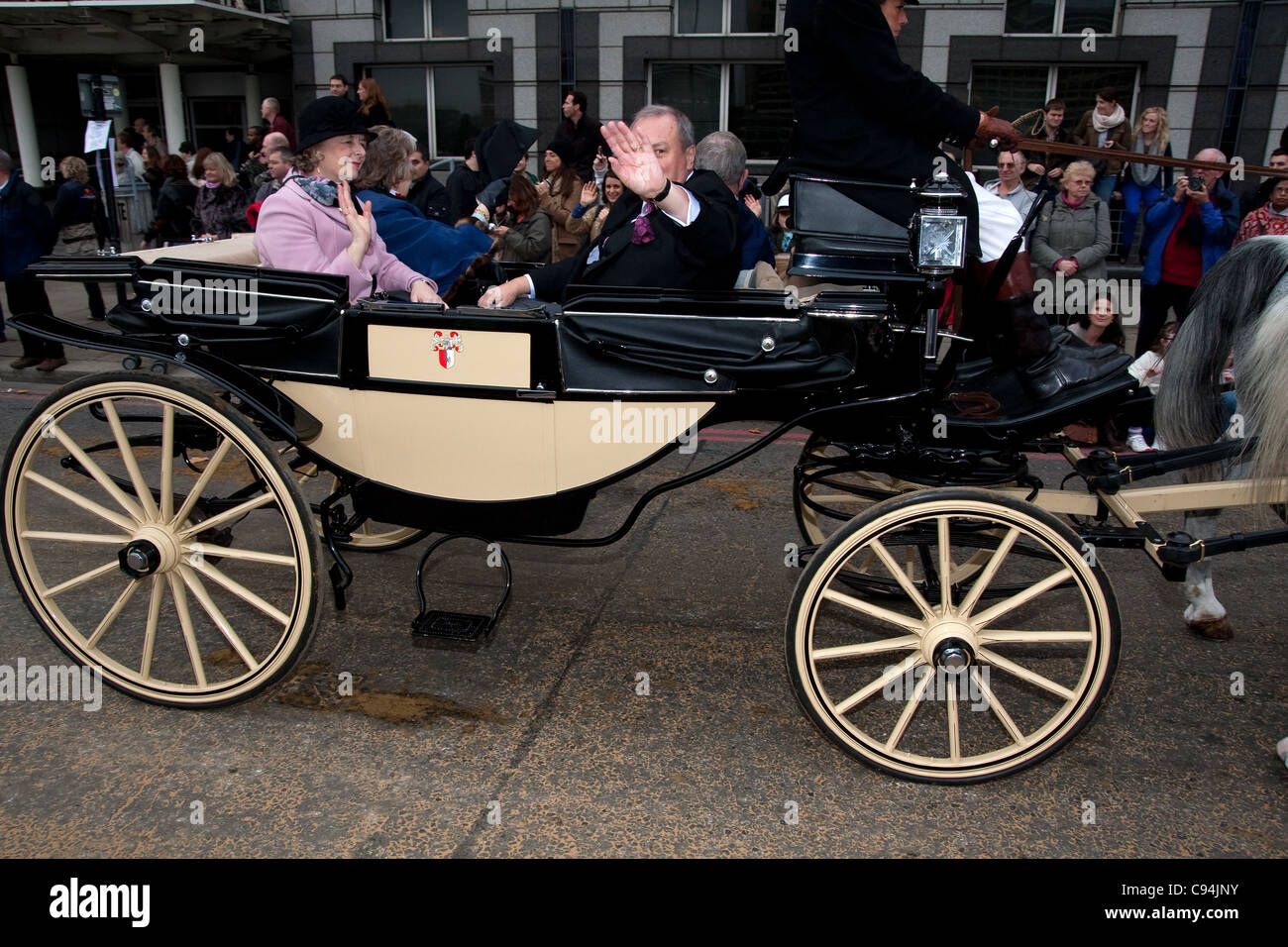 Lord's mayor show London 12th November 2011 - Stock Image