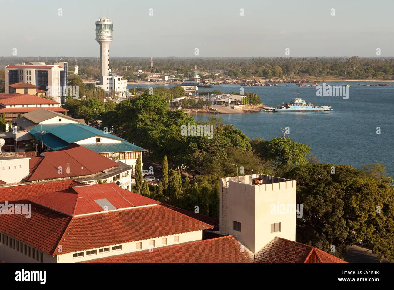 Dar es Salaam Harbour, Tanzania, East Africa - Stock Image