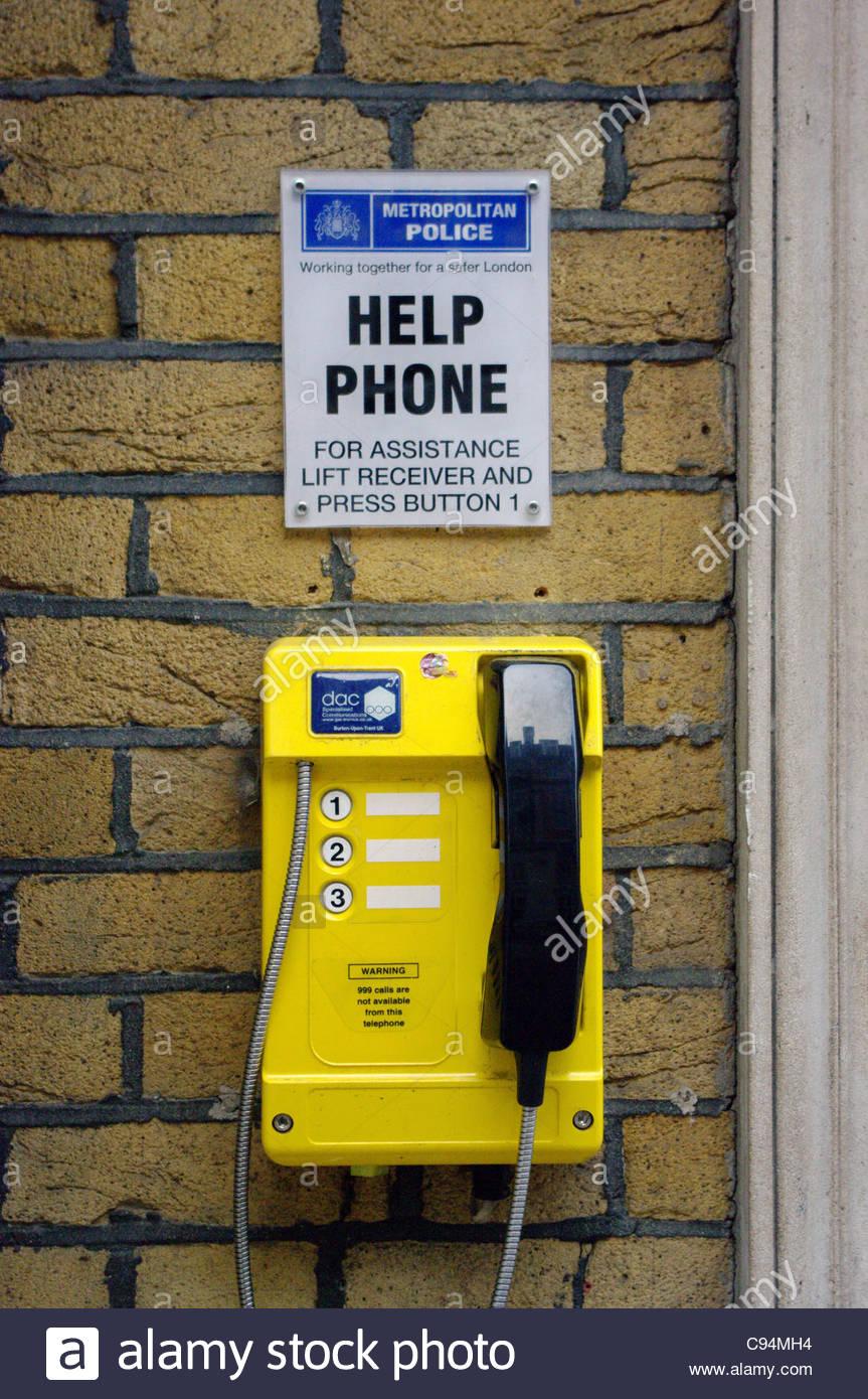 help information technology bricks wall yellow no - Stock Image