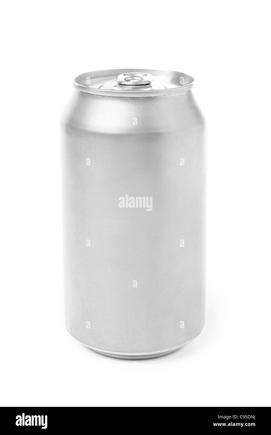 blank soda can with white background stock photo 40073198 alamy