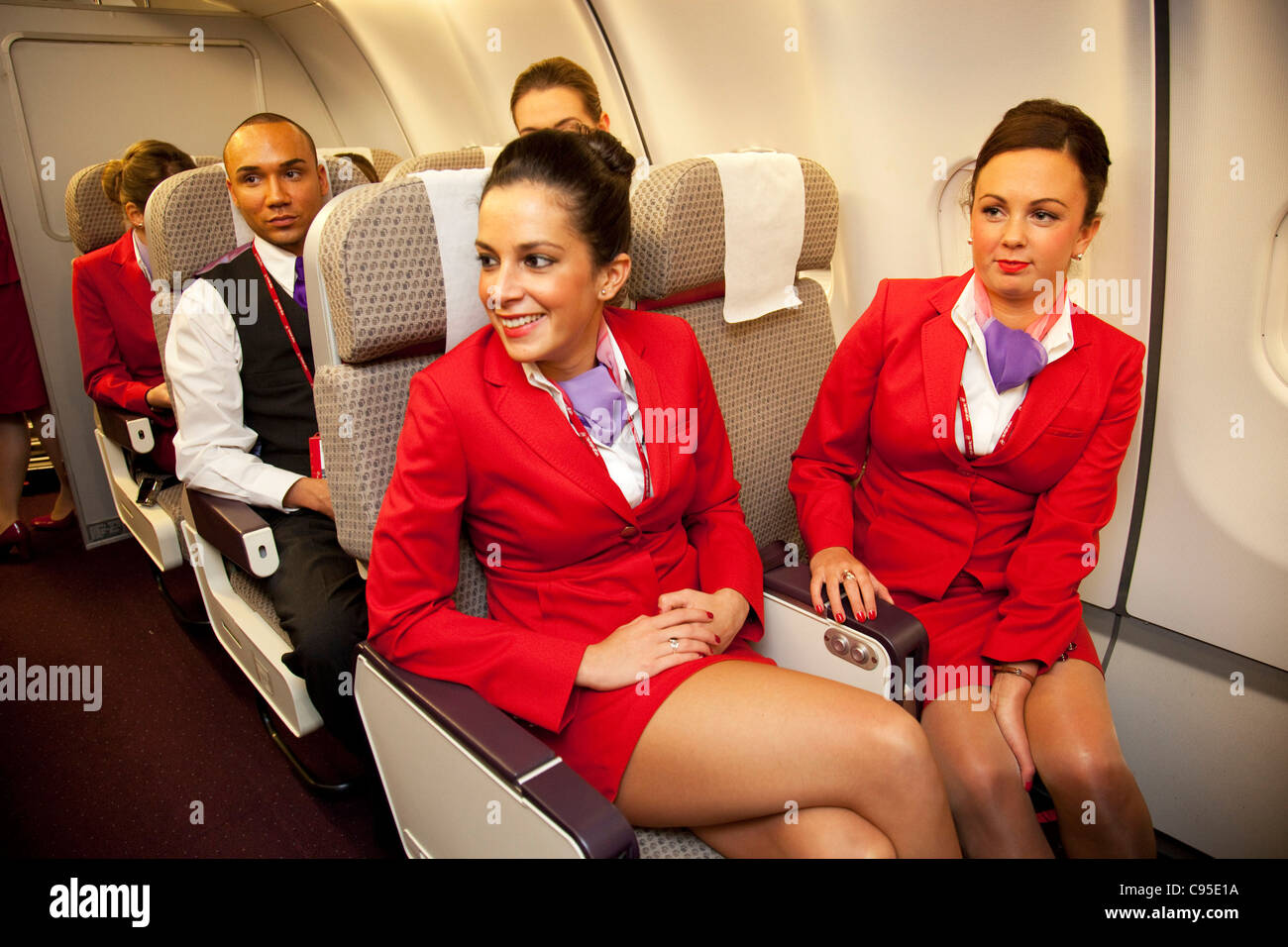 Airline hostess