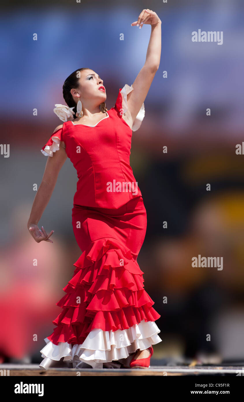 Red Stage Dress
