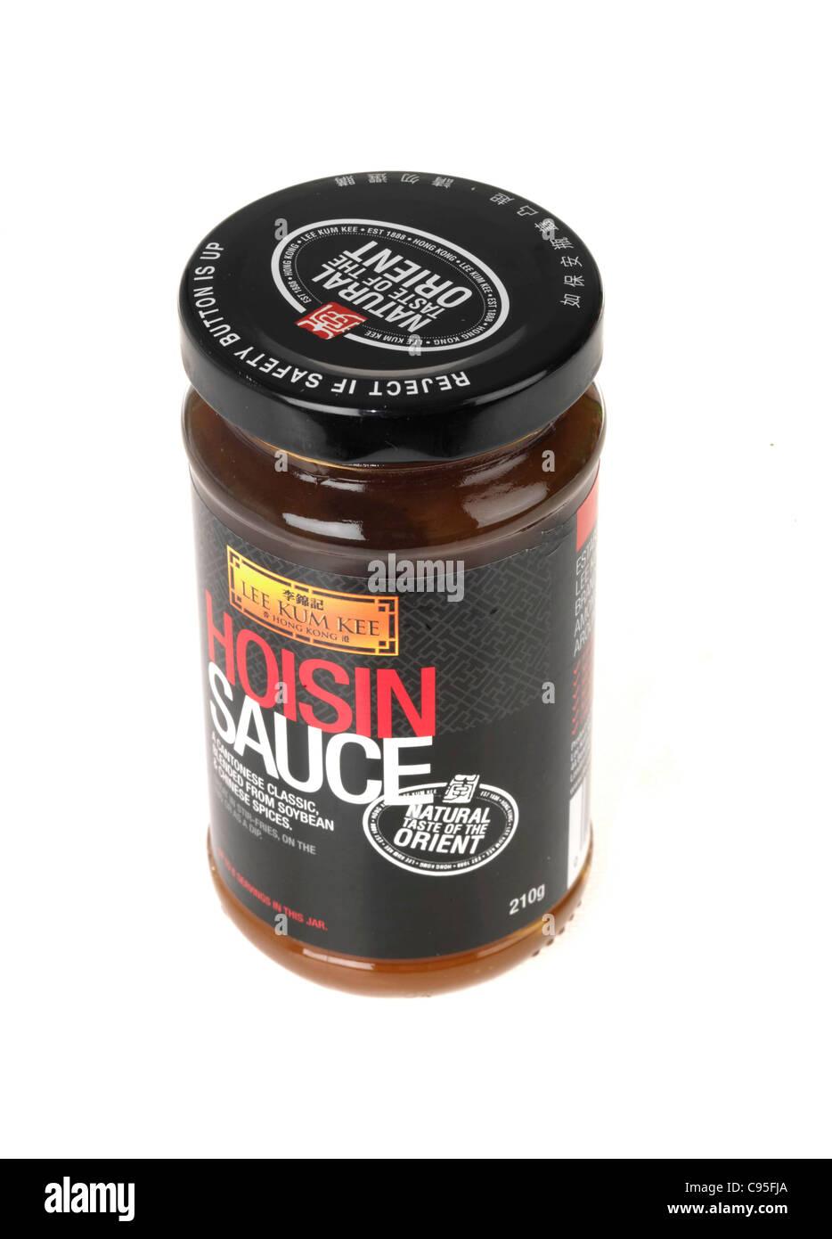 Hoisin Sauce - Stock Image