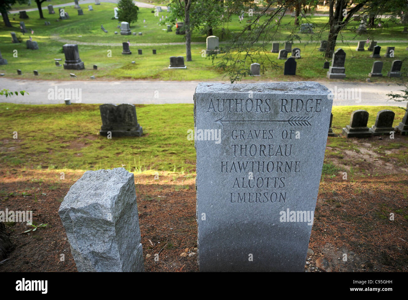 Sleepy Hollow Cemetery Stock Photos & Sleepy Hollow Cemetery