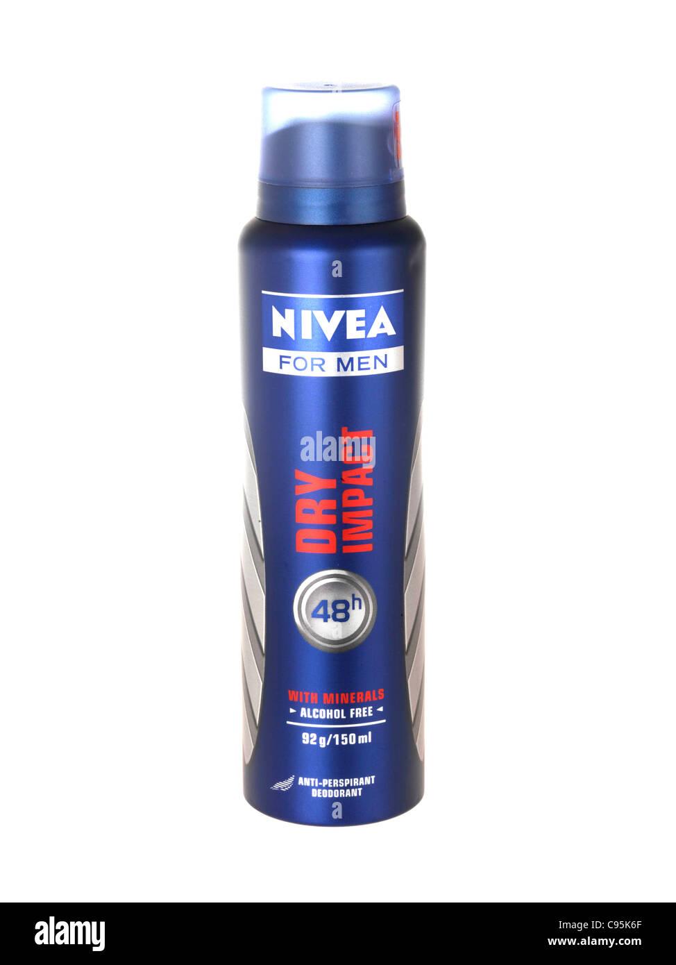 Nivea Dry Impact Deodorant - Stock Image