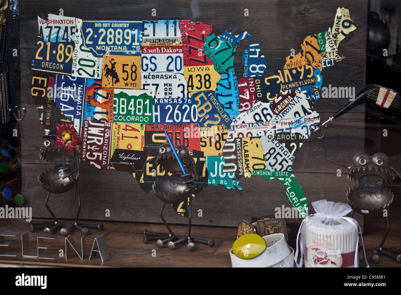 Map of America made out of license plates Stock Photo ... United States Map Made Out Of License Plates on using map of missouri license plates, united states map printable pdf, united states license plate game, 50 states license plates, united states map with scale, us map made of license plates, united states license plate designs, united states map art, united states licence plates, united states license plates 2014, united states map printout, furniture made from license plates,