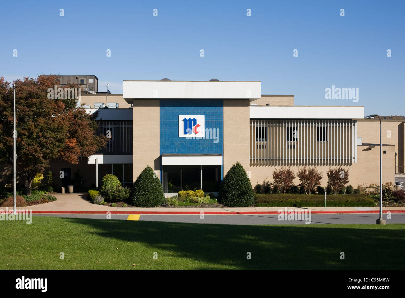 McCormick and Company Corporate Headquarters of Consumer Products Division, Hunt Valley, Maryland - Stock Image