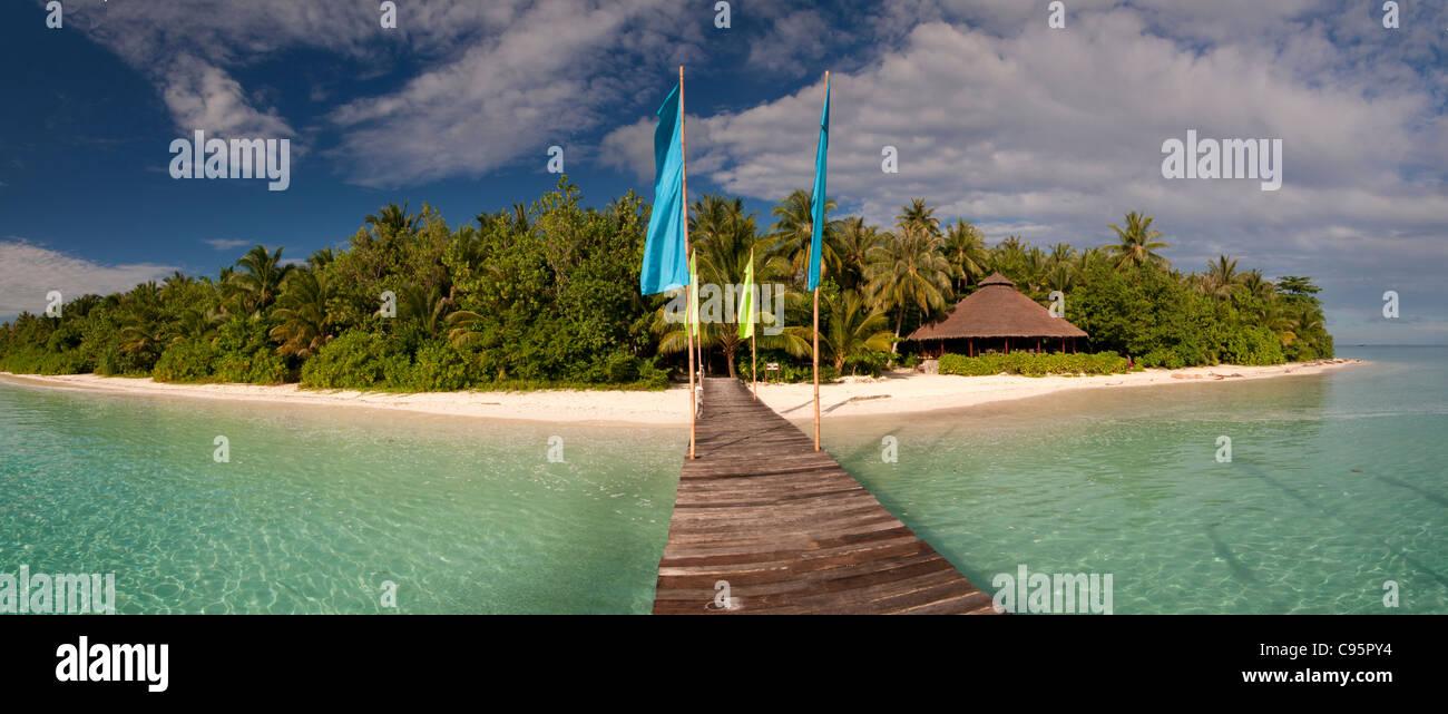 Simakakang island, Mentawai Islands, West Sumatra, Indonesia - Stock Image