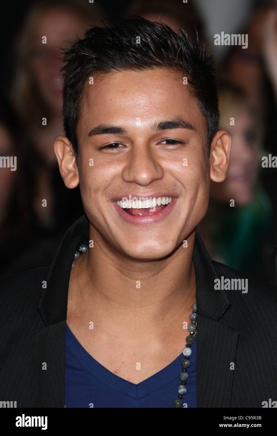BRONSON PELLETIER THE TWILIGHT SAGA: BREAKING DAWN - PART 1. WORLD PREMIERE DOWNTOWN LOS ANGELES CALIFORNIA USA - Stock Image