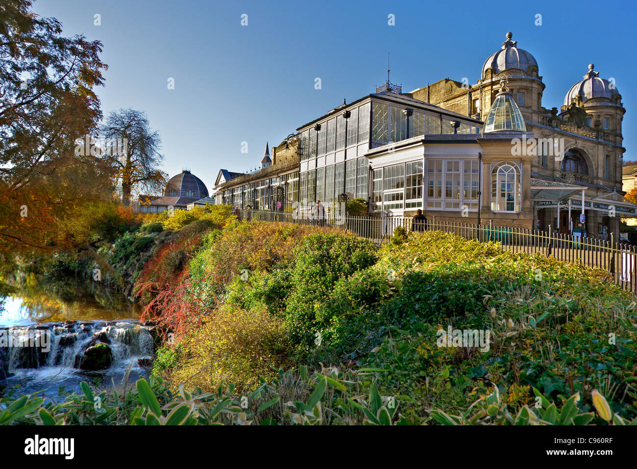 Buxton Opera House and theatre. - Stock Image