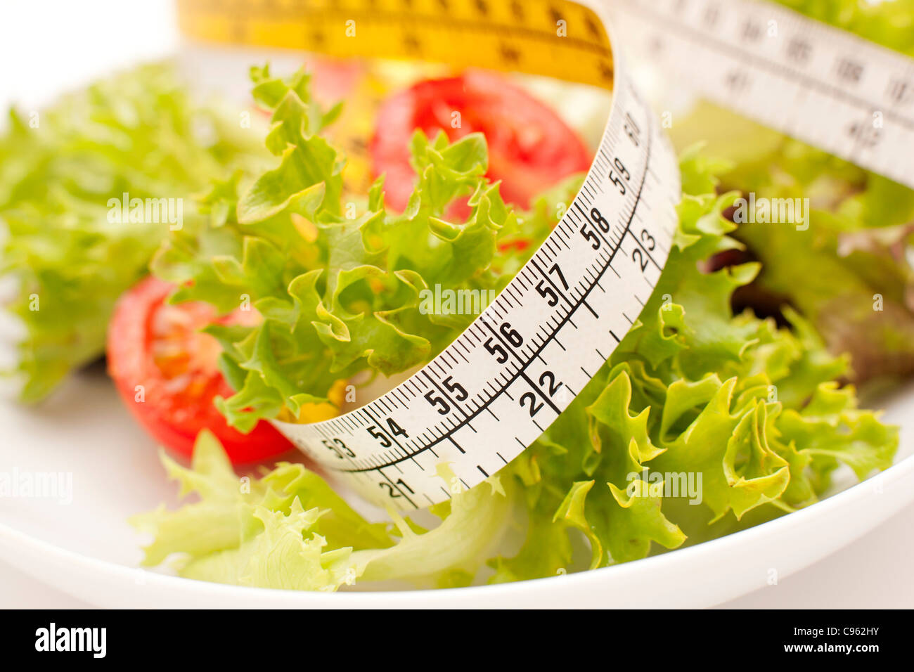 Dieting, conceptual image. Stock Photo