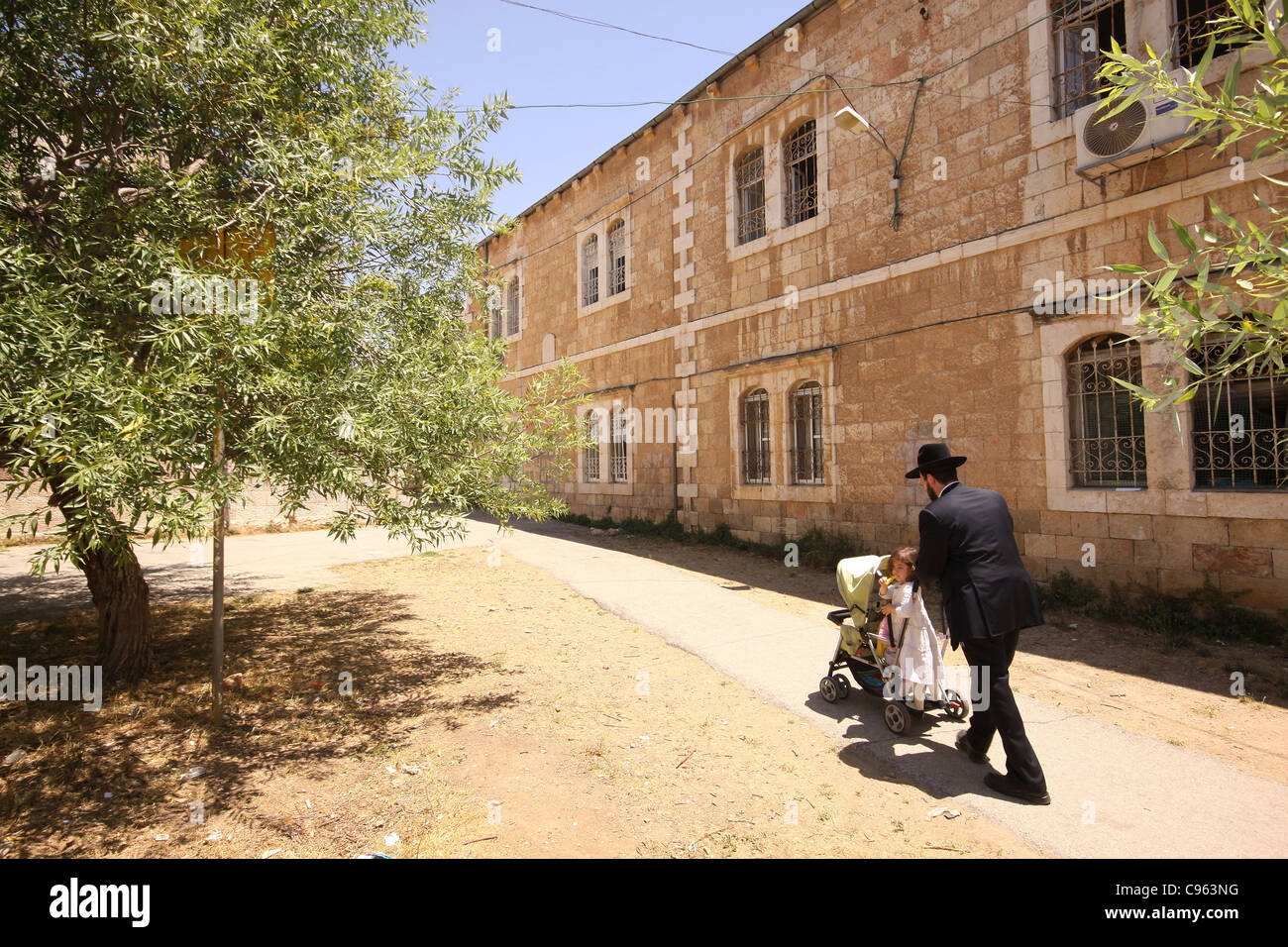 Nachlaot is a cluster of neighborhoods in central Jerusalem, Israel - Stock Image