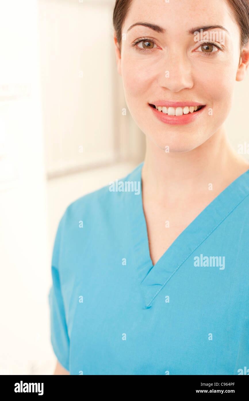 Female doctor. - Stock Image