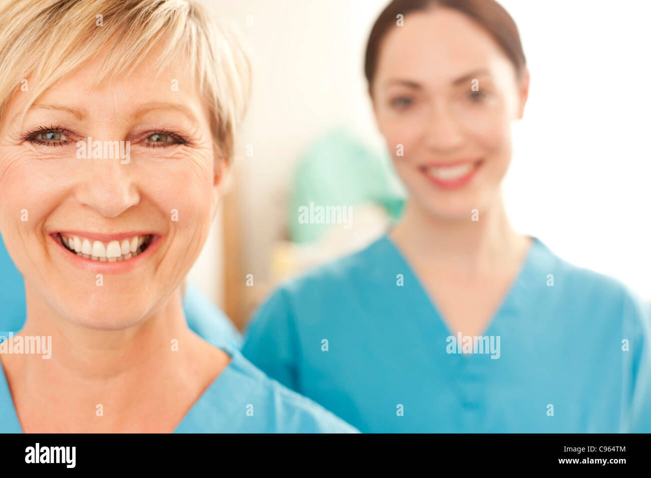 Hospital staff. - Stock Image