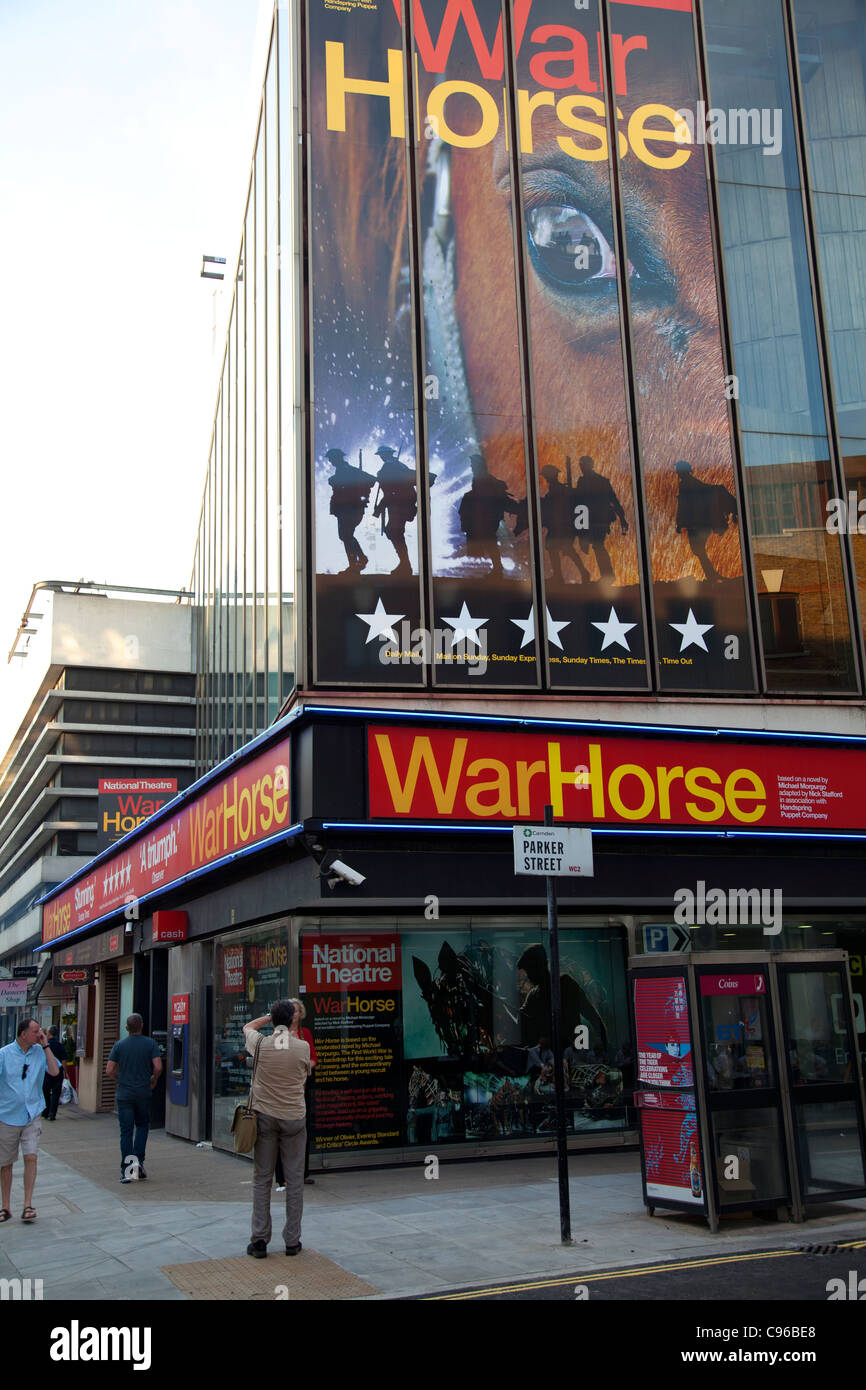 War Horse on Show in London - Stock Image