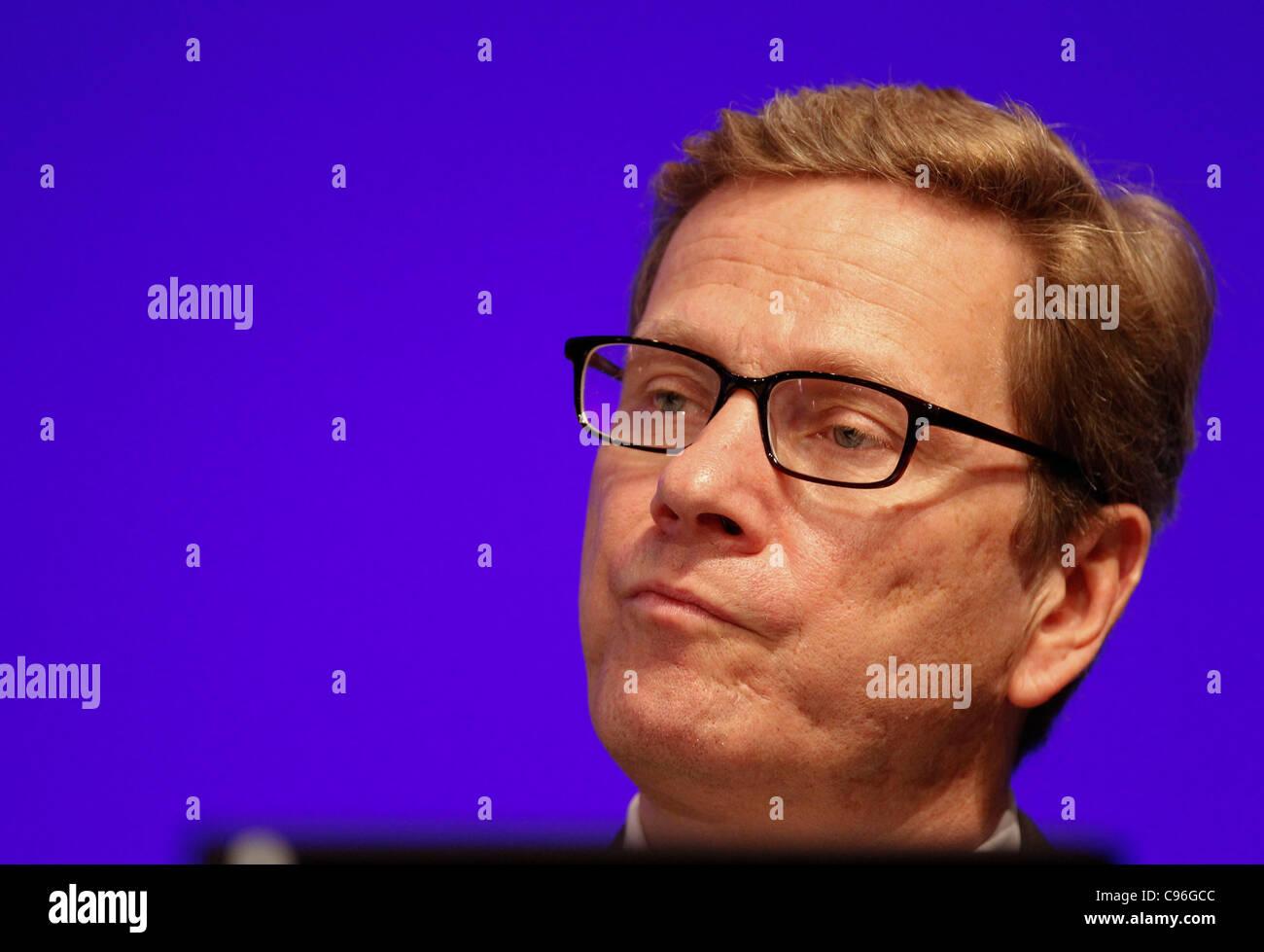 FDP National Congress in Frankfurt - Stock Image