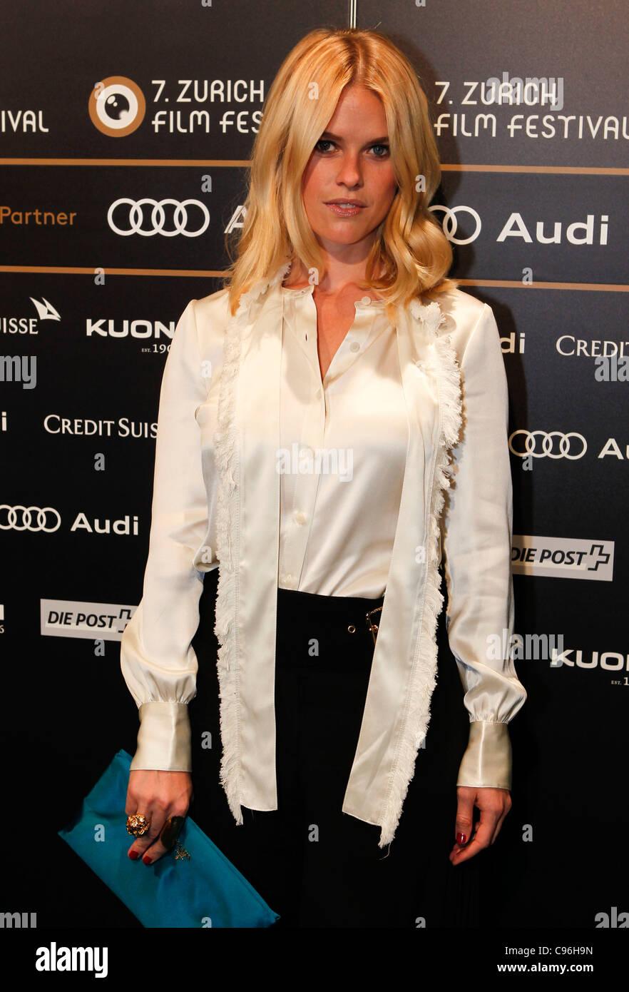 Zurich Film Festival mit Alice Eve und anderen am Mittwoch, 29.09.2011 / 2011  Stock Photo