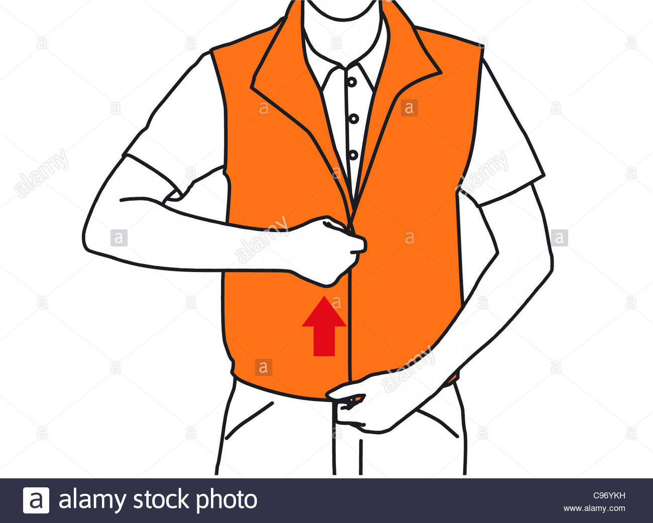 Safety Harness Illustration Stock Photos & Safety Harness ...