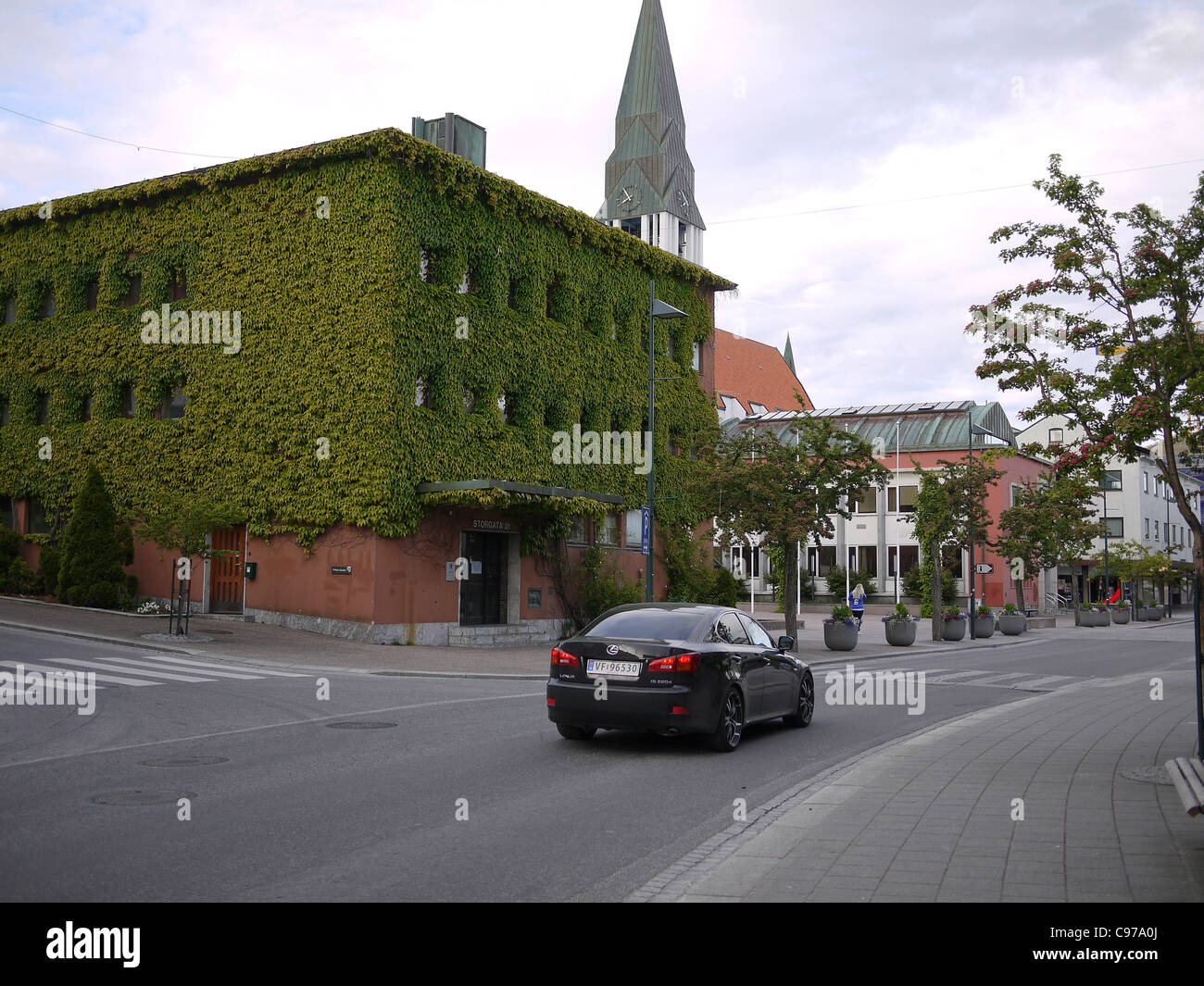 Molde, Møre og Romsdal county, Norway Town Hall - Stock Image