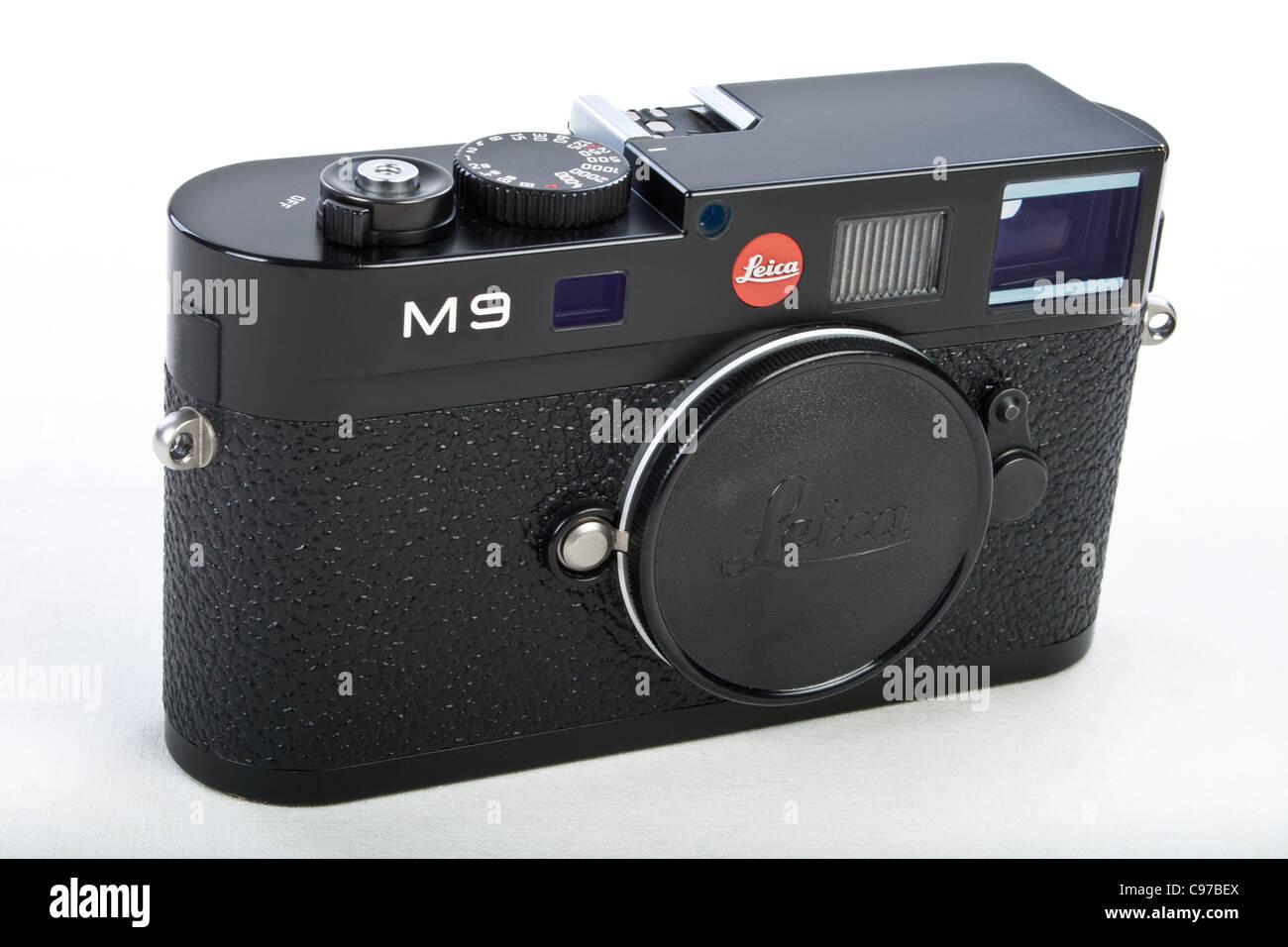 LEICA M9 Digital Rangefinder Camera Body - Stock Image
