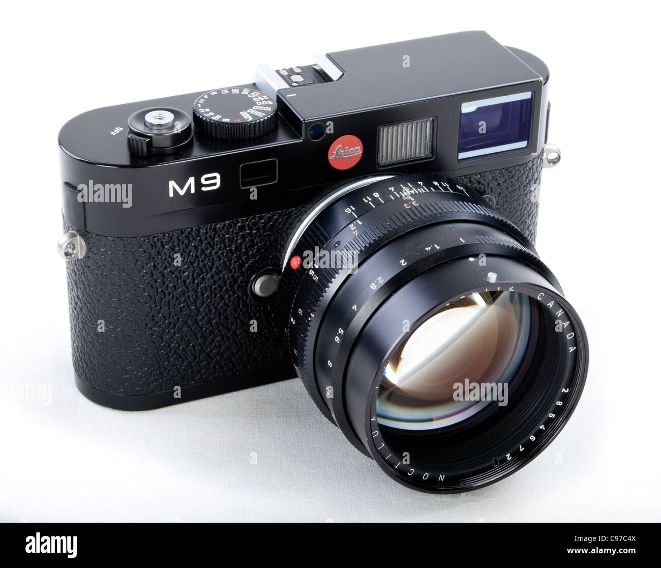 LEICA M9 Digital Rangefinder Camera Body with Noctilux f1 50mm Fast