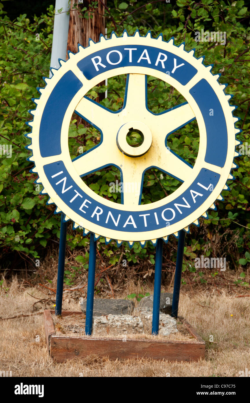 Rotary Club International United States of America American USA - Stock Image