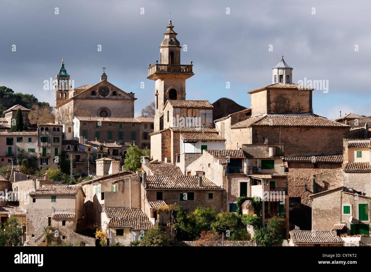 Chartreuse Cloister, Valldemossa, Majorca, Spain - Stock Image