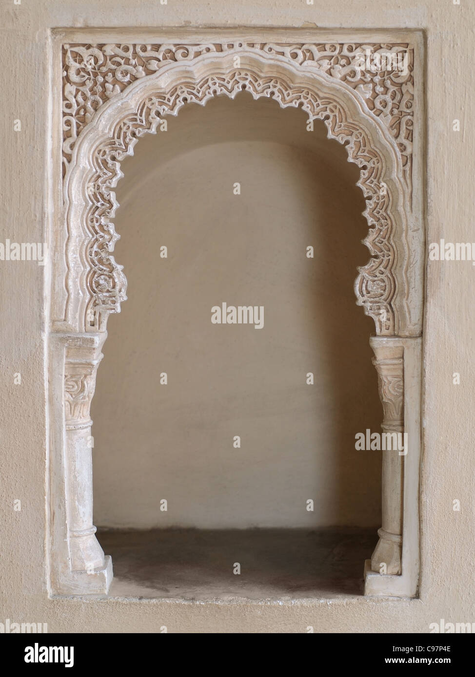 oriental alcove - Stock Image