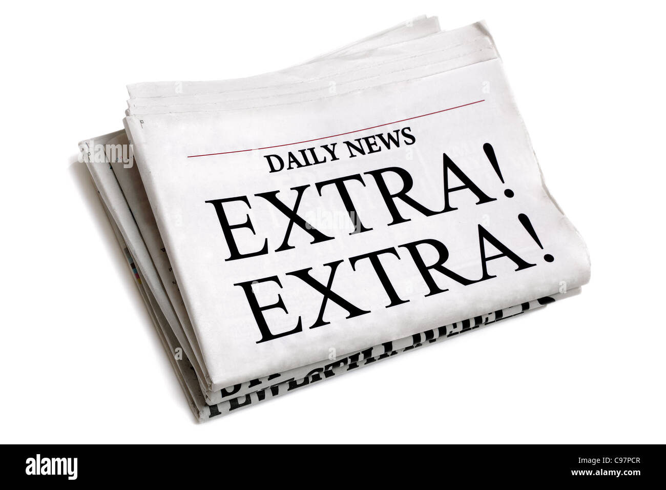 Daily newspaper - Stock Image