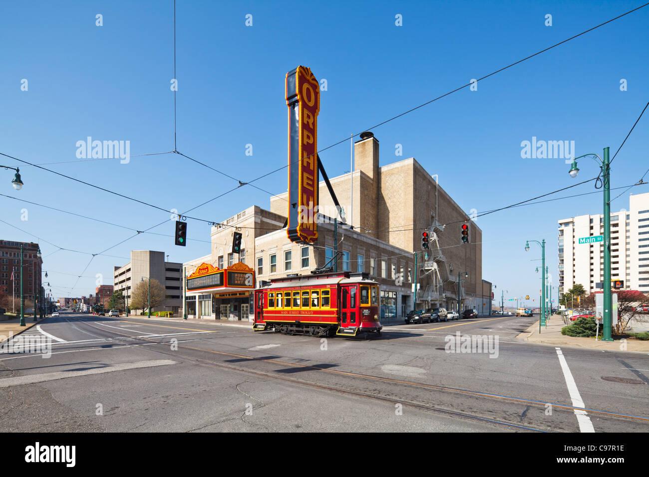 Orpheum Theatre Memphis - Stock Image