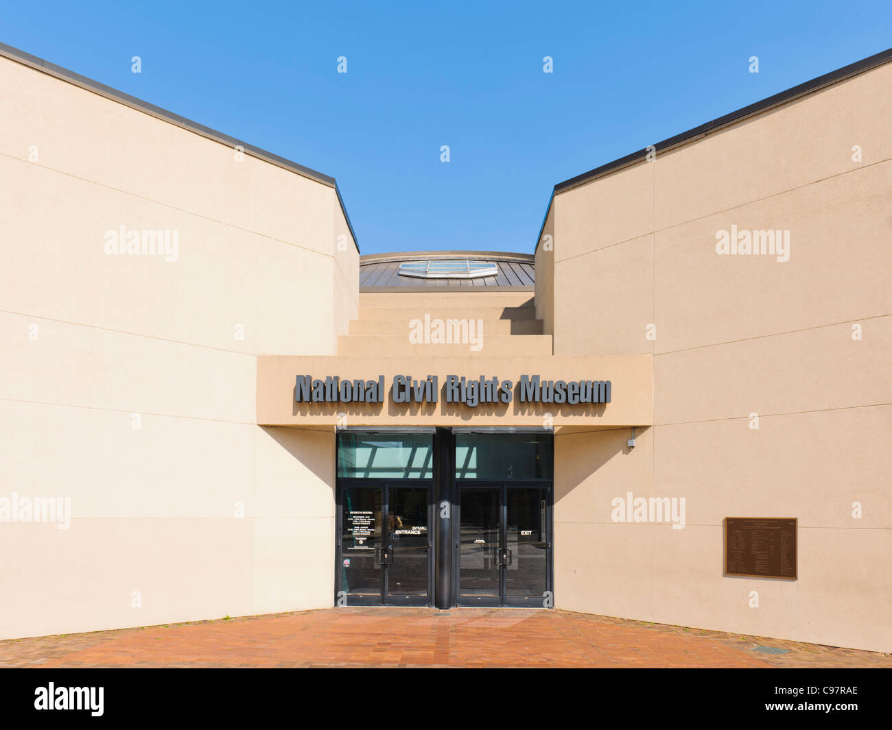 National Civil Rights Museum, Memphis Stock Photo