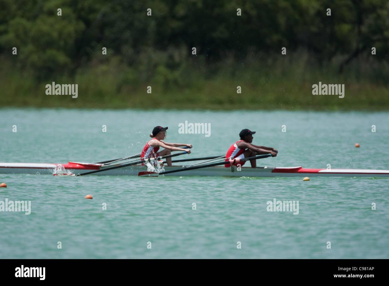 SA rowing championships - Stock Image