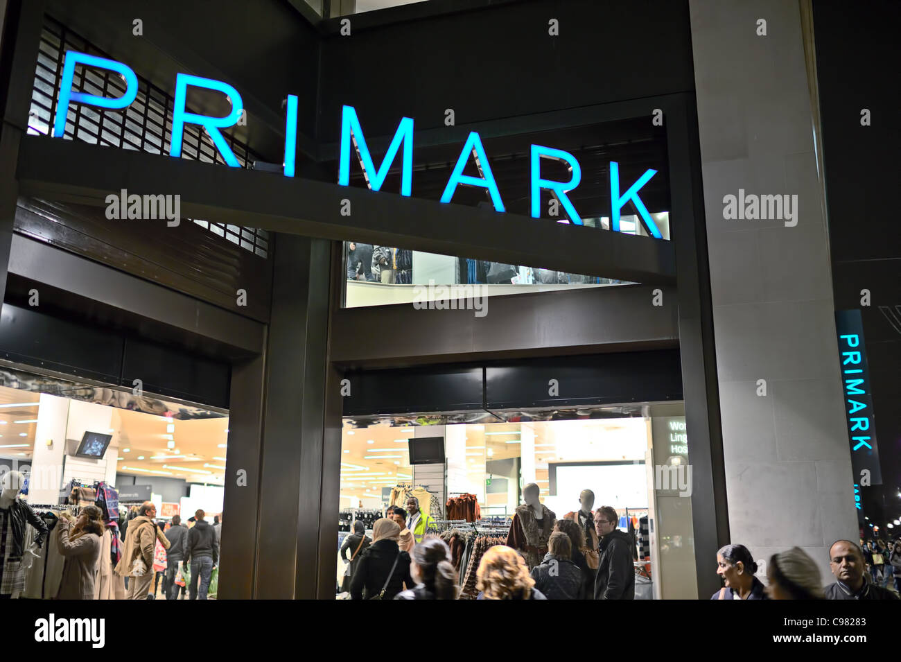 Primark flagship store, Marble Arch, Oxford Street, London, England, UK - Stock Image